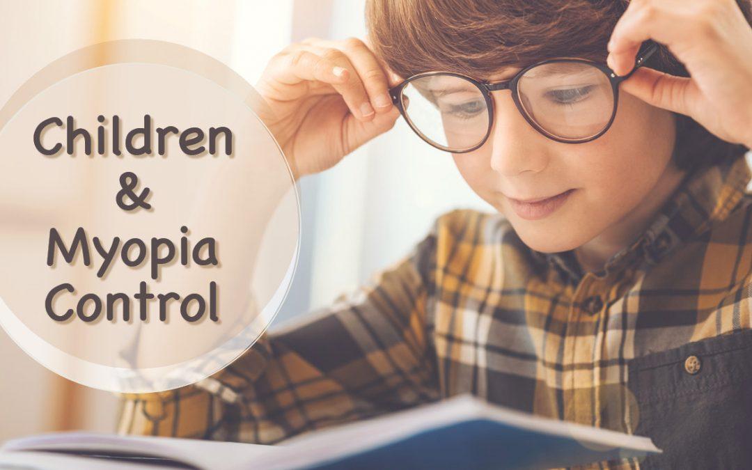 Children And Myopia Control